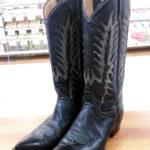 ウエスタンブーツ修理お気に入りの靴が長持ちビブラムハーフソール