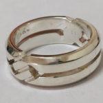 豊中 庄内 ジュエリー修理 シルバーリング指輪のサイズを大きくする。アクセサリー修理 ネックレス修理