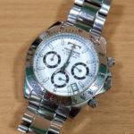 豊中庄内時計の電池交換テクノス Technos 時計修理オーバーホール分解掃除