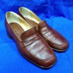 豊中 庄内 婦人靴 中敷き交換 靴が長持ち!滑り止め!ビブラムハーフソール 靴修理と合鍵のお店プラスワン