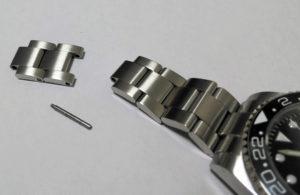 腕時計のバンドベルトのサイズ調整1-3