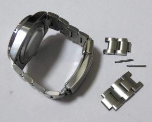 腕時計のバンドベルトのサイズ調整1-4
