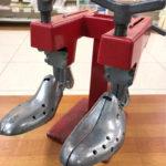 豊中 庄内 靴修理 靴の幅だし小さい靴を大きく!伸ばします。合鍵 時計修理 プラスワン