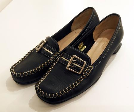 豊中庄内靴修理婦人靴 レディース カカト ヒール修理 靴修理