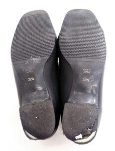婦人靴 レディース カカト ヒール修理1-2