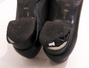 婦人靴 レディース カカト ヒール修理1-3