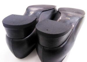 婦人靴 レディース カカト ヒール修理1-6