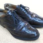 大阪 箕面市 池田市 川西市 チャーチ 靴修理 踵修理 お気に入りの靴が長持ち ビブラム ハーフソール