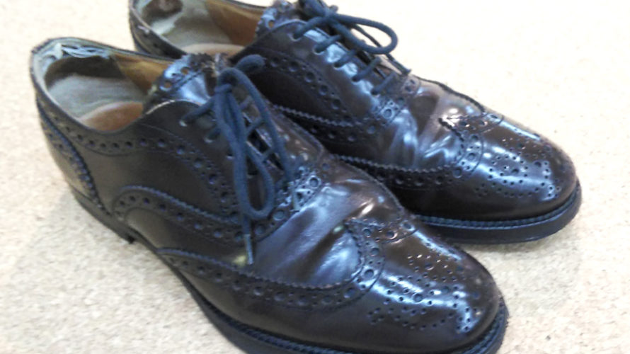 チャーチ 靴修理 踵修理 お気に入りの靴が長持ち ビブラム