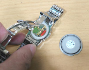 バーバリー時計の電池交換