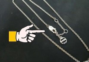 18Kネックレス修理