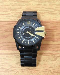 明石ディーゼル時計の電池交換