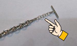 ティファニー ブレスレットの長さを長くする ジュエリー アクセサリー ネックレス修理