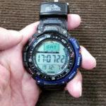 激安!時計の電池交換 カシオ PRO TREK プロトレック
