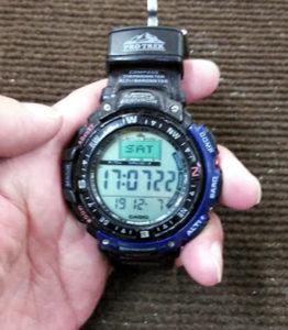 カシオ PRO TREK プロトレック 時計の電池交換