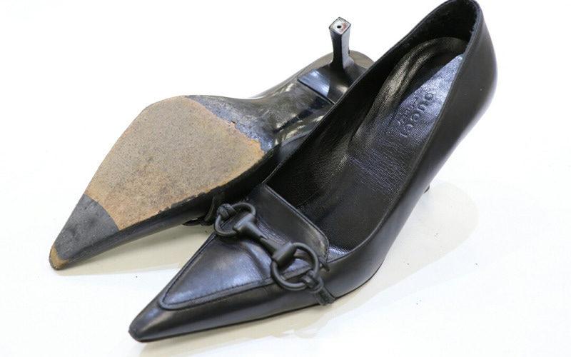 グッチ靴修理