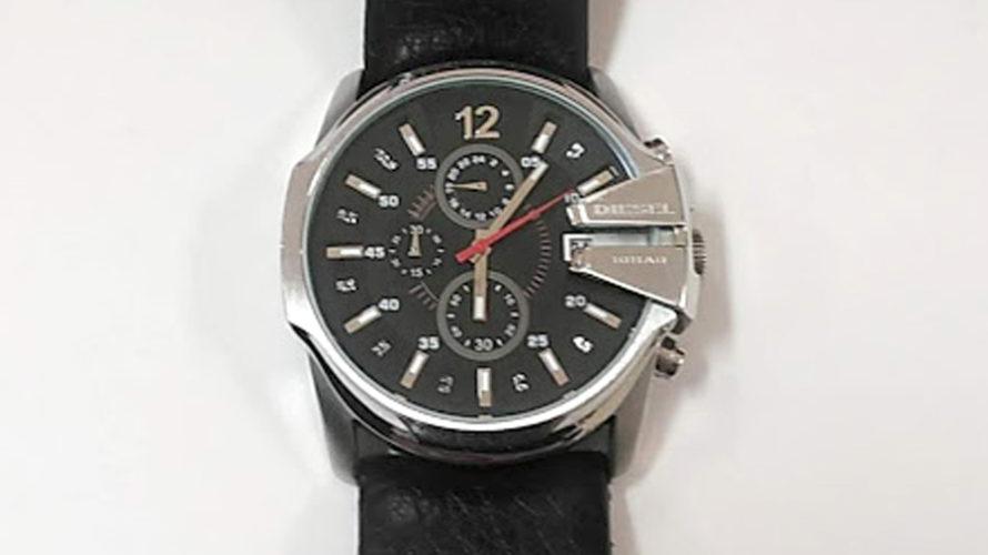 ディーゼル時計の電池交換