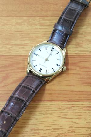カシオ時計電池交換1