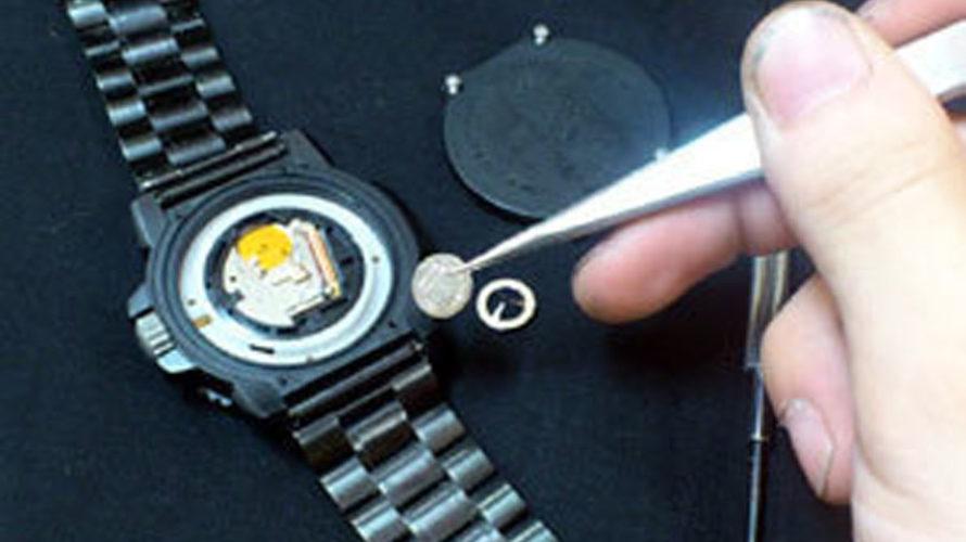 姫路腕時計電池交換1