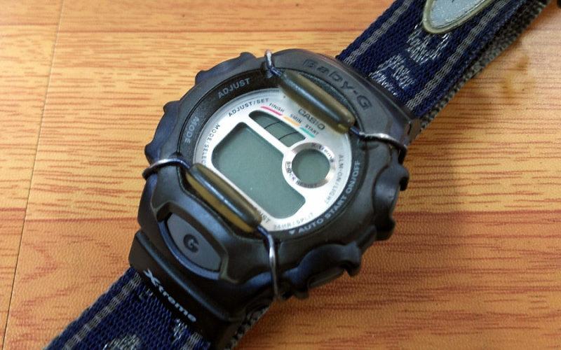 腕時計電池交換 カシオ G-SHOCK ジーショック 自分が持っているカシオ G-SHOCKの時計の電池交換です。