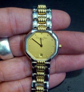 クリスチャン ディオールChristian Dior腕時計電池交換
