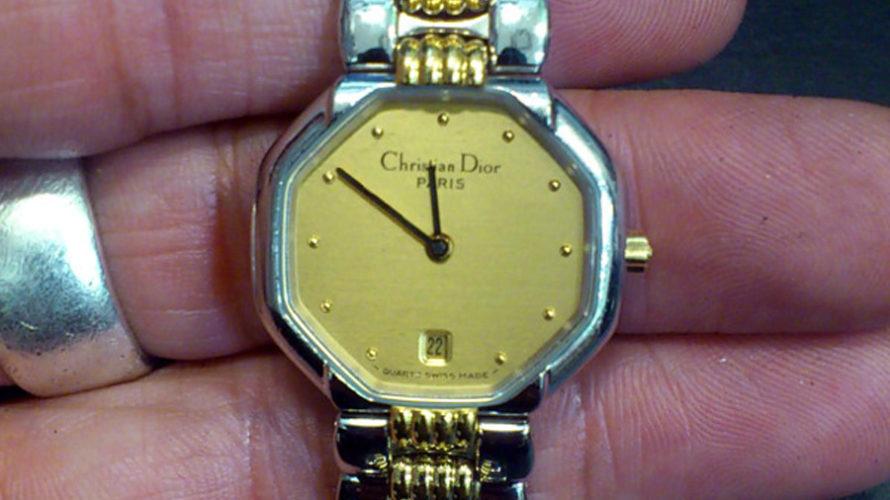 クリスチャン ディオールChristian Diorの腕時計電池交換