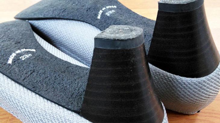 安い靴修理 婦人靴のカカトの修理 パンプス ピンヒール修理