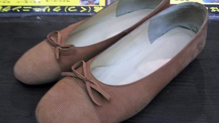 連休中に靴修理!お気に入りの靴が長持ち!婦人靴レディースパンプスにミシュランハーフソール!