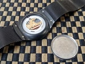 SKAGENスカーゲン腕時計電池交換