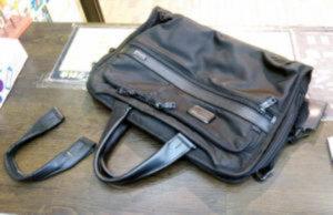 トゥミ TUMI 鞄修理 バッグ修理 持ち手を交換 持ち手の作製