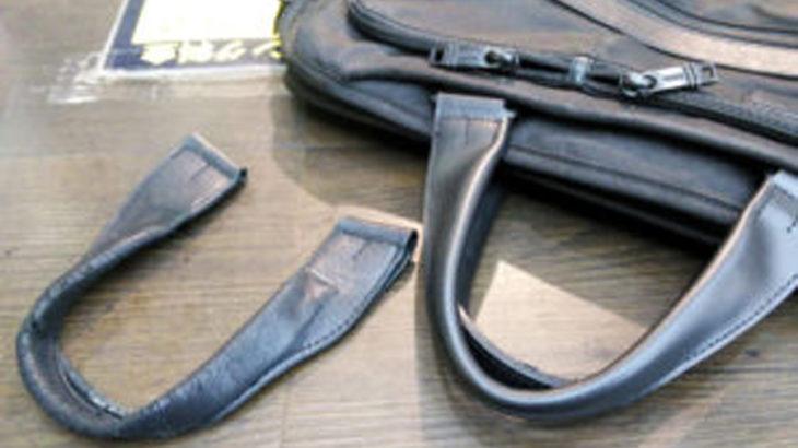 トゥミ TUMI 鞄修理 バッグ修理 持ち手を交換 持ち手の作製 郵送での修理も承ります。最寄りの店舗までご連絡下さい