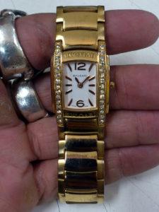 ブルガリ(BVLGARI)の腕時計の電池交換