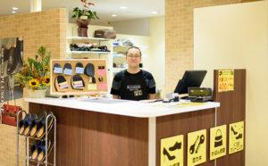 靴修理と合鍵作製時計の電池交換のお店プラスワン柏マルイ店2