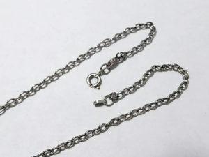 ネックレスの修理 引き輪の交換 留め具フックの修理