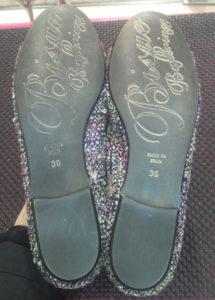 お気に入りの靴、新品の靴、履きなれた靴が長持ちビブラムハーフソール
