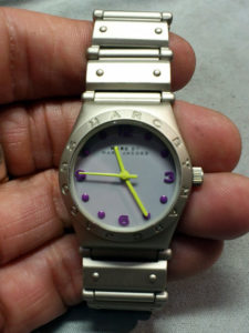 マークジェイコブスMarc Jacobs腕時計の電池交換