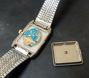 ラド―時計の電池交換2