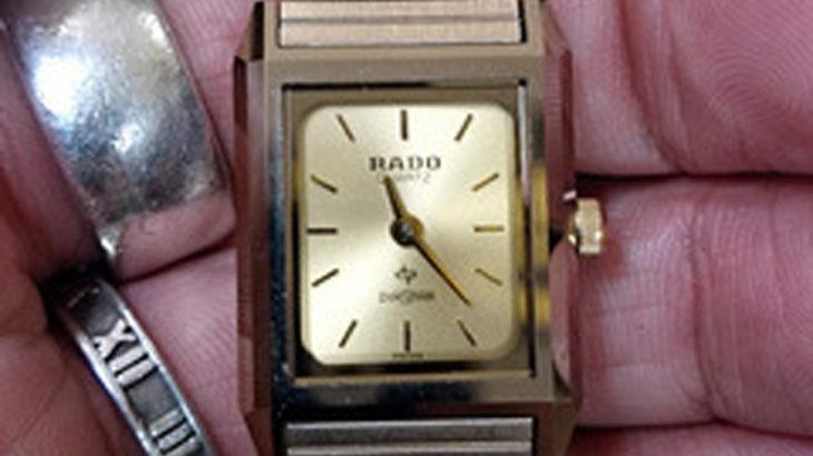 ラド―時計の電池交換