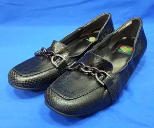 婦人靴 カカトの修理 ハーフソール1