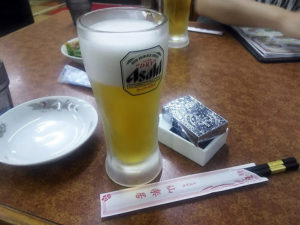 湊川公園 台湾料理 仙楽居 休日の一杯