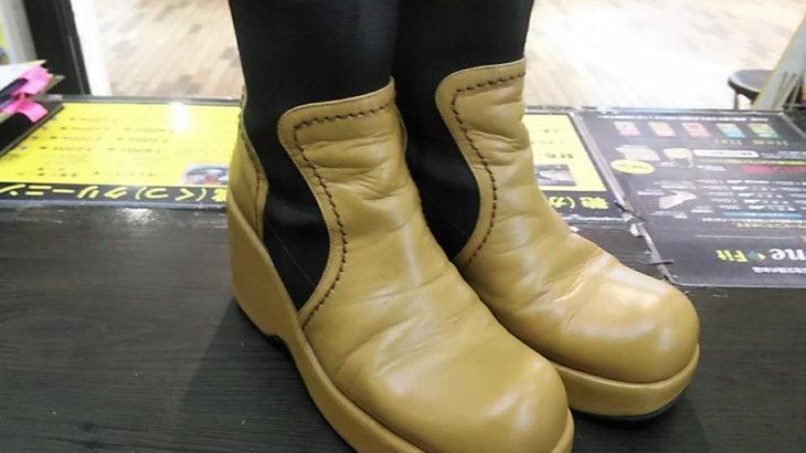 ブーツのクリーニング除菌消臭修理