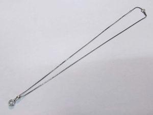 プラチナダイヤネックレスの修理