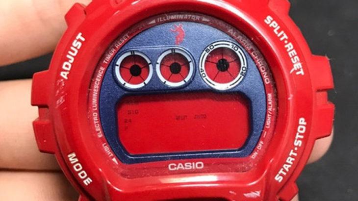 G-SHOCK(ジーショック)の電池交換