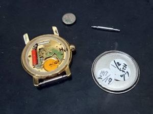 コーチCOACH腕時計の電池交換