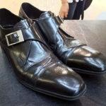 紳士靴の修理
