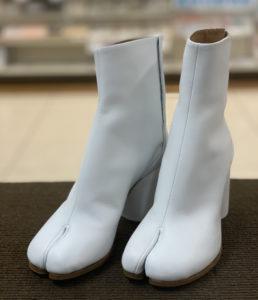 メゾンマルタン マルジェラ Maison Martin Margiela 足袋 パンプス ブーツ ビブラム ハーフソール 靴の修理 ブーツの修理