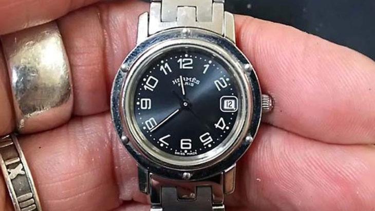 エルメス時計の電池交換