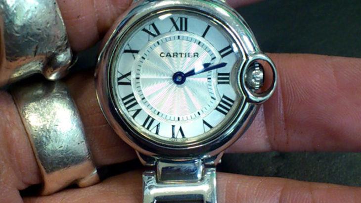 カルティエCartier腕時計の電池交換