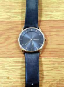 スカーゲン時計の電池交換