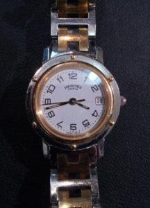 HERMES エルメス 時計の修理 電池交換